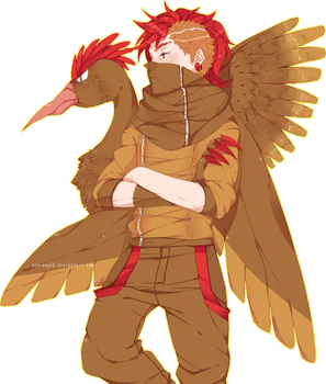Russian the Fearow by Sir-Cupid