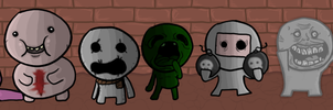 The Binding Of Isaac - Seven Deadly Sins by Flashpole