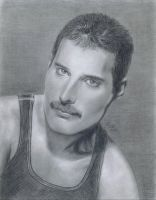 Freddie Mercury by LatinPrincess17