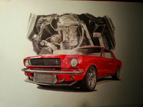 Mustang by przemus