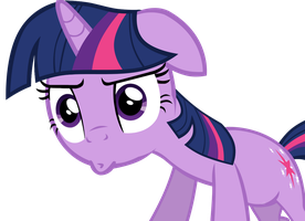 Twilight Sparkle with a funny face by megacody2