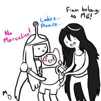 Finn is such a ladies man by Littlest-Mandingo