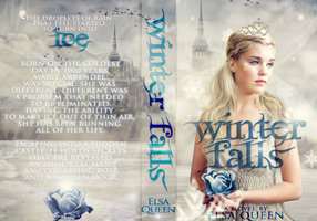 Winter Falls | Book Jacket by saltylittledreams