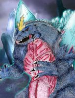GvSG: SpaceGodzilla [The Crystal Emperor] by AVGK04