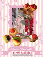 Marie Antoinette Pastries Set by morana-stock