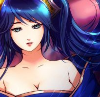 Sona : LOL by Esther-Shen