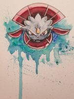 Watercolor Weavile by TheMoonfall