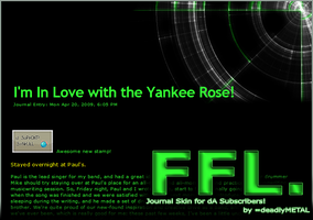 FFL. Journal Skin by deadlyMETAL