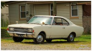 An Opel Rekord L by TheMan268
