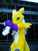 Renamon use dimond storm by ThreadandClaws