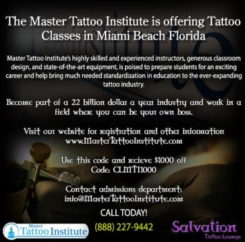 The #1 tattoo institute! by MasterTattooInst