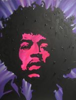 Jimi Hendrix Pop Art by LordColinOneal