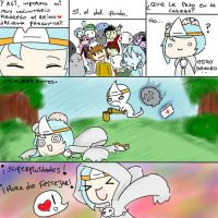 [Comic] El regreso de Candle Lamp. by Maty-owo