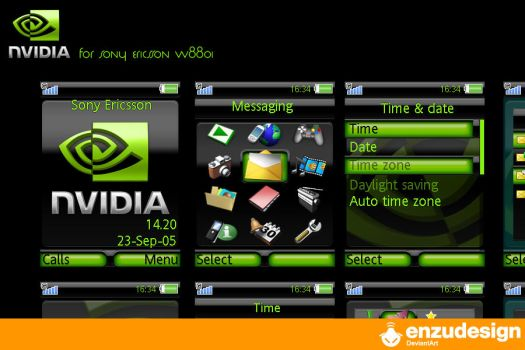 Nvidia by EnzuDes1gn