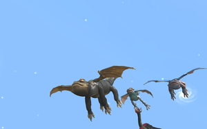 my classic toothless and his friend in spore 3 by moonofheaven1
