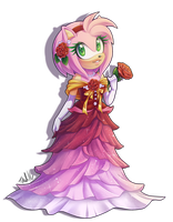 AT: Amy Rose in Bloom by MetalPandora