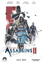 The Video Game Assassins II Poster by Deividas12