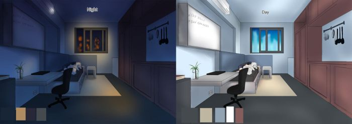 A quick background study by RinneMei