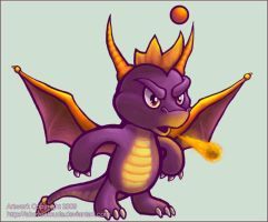 Spyro Chao by aboveClouds