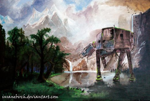 AT-AT by insanebirch