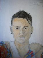 Chester Bennington 2 by Monstacookie