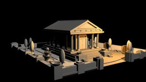 Greek Temple Final - View 2 by mhofever
