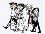 Zombie Double Date by Atra-Mors