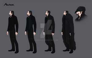 Anvindr clothing sheet 1 wip by Silvac