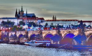 Charles Bridge and The Castle01 by abelamario