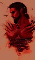 Khal Drogo - Game of Thrones Blood Version by ToolKitten