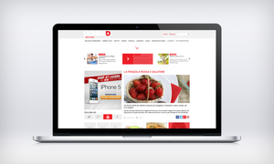 MockUp of the same site by Ivanetto