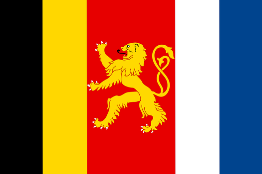 Alternate Flag of Benelux by Fridip