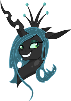 Queen Chrysalis by Gray-Gold