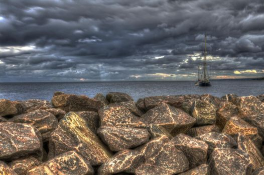 Ship by AarupPhotography