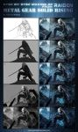 Step by step of Raiden by AdmiraWijaya