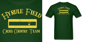 LOZ Hyrule Field Cross Country Team Shirt by Enlightenup23