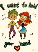 I want to hold your hand by pluie3et3grenouille
