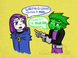 You're A Fool by Artistic-Winds
