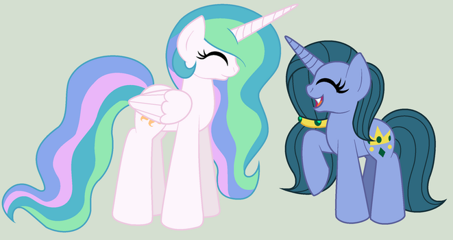 Chryssie and Tia by chalatso