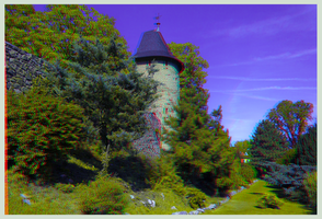 Town wall of Wernigerode ::: DRi Anaglyph 3D by zour
