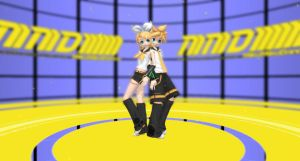 MMD Kagamine Rin and Len by Vocalizer