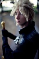 Cloud Strife by HamtaroKush