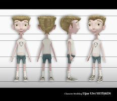 Toon Character Design by pixi-ugur