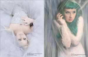 Mystica Magazine Spread - Pages 1 and 2 by remydarling