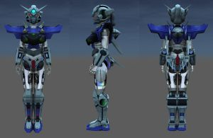 Mechanical Maiden Morpica 3D by JasonCanty
