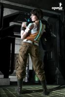 Ellie from Dead Space2 by cosplayerotica