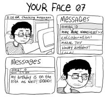 your face 07 by LazyMuFFin
