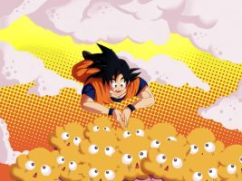 Goku's Muffin Dream by ivan1426