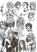 Mamona Coven Doodles by DominiqueDuong