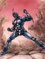 Guyver-X Colored by Rawbot